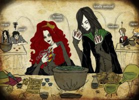 In Potions Class by Provorse