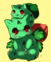 Bulbasaur and Ivysaur
