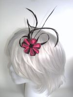 Floating Wings Pink Kanzashi 1 by smallrinilady