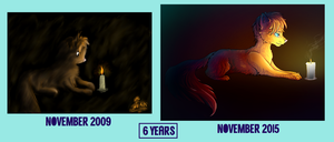 Draw it again, 6 years by Arkare
