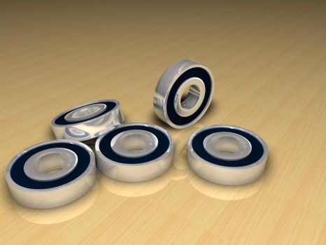 Cinema 4D Bearings by TheGripReaper