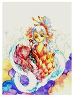 white snake by Lovepeace-S