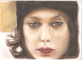 Pastel drawing by trixy-bernadotte