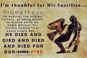 Facebook Share: Thankful for His Sacrifice by 8manderz8