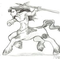 Susan: Native American Centaur by jameson9101322