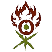Signet - Gruul Clans by Glacius91