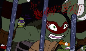 TMNT The Invasion: Breaking Point by AmethystClaw