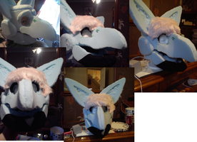 Aria Fursuit  Toony by BlueGriffyon