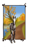 Beautiful Season ~Young-Horse-Autumn-Event~ by Artistic-Pineapple