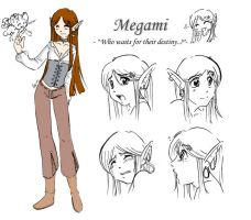 Character Sheet - Megami by pachwork