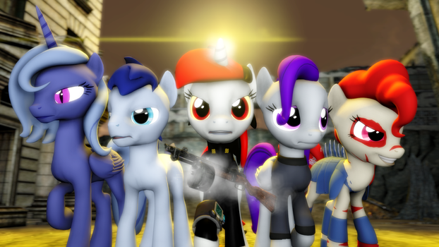 {SFM} Fallout Equestria: Project Horizons by jaygaming1