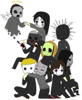 Slipknot Chibi by maurawilson