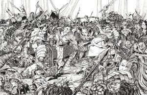 Battle of Ebeldore by DKuang