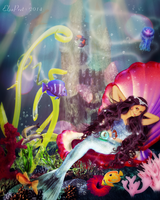 This is the Life under the Sea (updated) by Elsapret