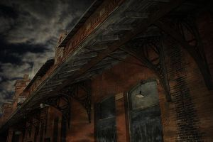 Abandoned Train Station by S-H-Photography