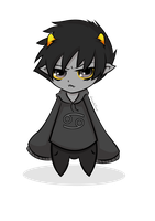 Little Karkat by shiroiyukiZero6