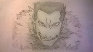 Greed FMA Drawing by Arcobaleno1425M