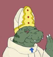 The Space Pope by Volador-N7