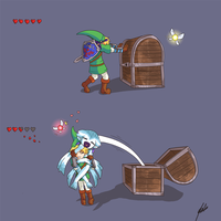 Link's Mimic by Alulle