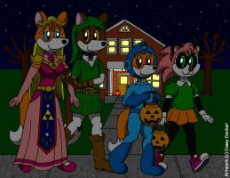 Goldie's Trick-Or-Treat Night by CaseyDecker