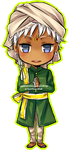 chibi comm: agni for zinniasnowdrop by chiaroleaf