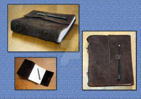 Suede Leather Journal by Bluelisamh