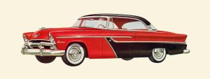 age of chrome and fins : 1955 Plymouth by Peterhoff3