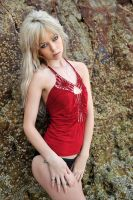 Meerkat - red bardot revisited 1 by wildplaces