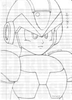 Rockman X - Close-up by Ekkusu-sama