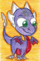 (StD)Bobbleheaded Cynder by KrazyKari