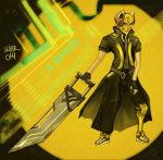 Trench Coats and Greatswords by L-A-N-E-R
