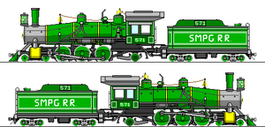 SMPG Vauclain Compound 4-6-2 Pacific by Sampug394