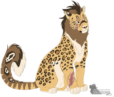 EBC: Ari - Air Empire Leopon by UnknownLioness