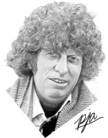 Tom Baker by andepoul