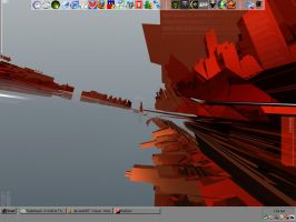 My Desktop as of 04-22-06 by Yomon