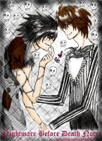 Nightmare B4 Death Note: L x L by wonderholic88