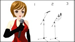 MMD microphone Download by 9844