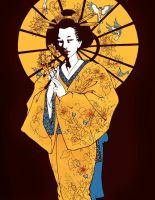 Geisha for Dulin by melukilan