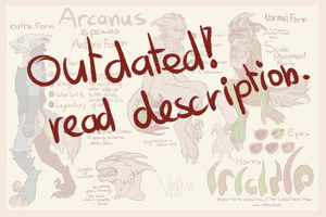 Arcanus Anthro Species sheet OUTDATED by Velkss