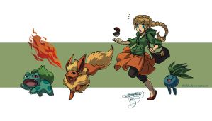 If I were a pokemon trainer... by shideh