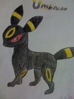 Umbreon by xXJustBelieveInMeXx
