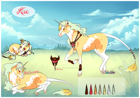 Kise/Unicorn (CLOSED) by Belliko-art