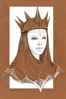 the Queen Ravenna ( Charlize Theron) by mirlantinami