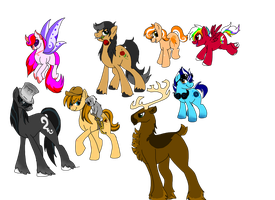 Mlp Draw to Adopts by wolf-wishes
