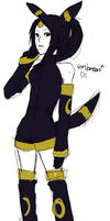 Umbreon Gijinka..? by raihaYANGU