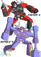 Transformers - Rumble+Frenzy by JP-V