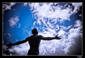 Looking to the Sky to Save Me by miggzs