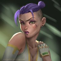 Punk Chick by PastyWhite