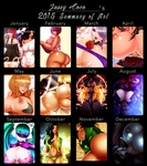 Jassy's 2K15 Art Summary :D by JassyCoCo