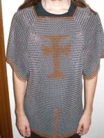 Finished Hauberk by gnomeofmaille